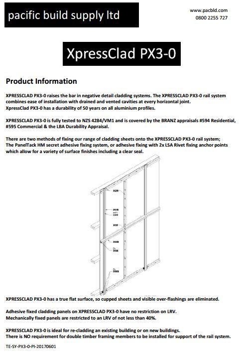 XpressClad Product Information