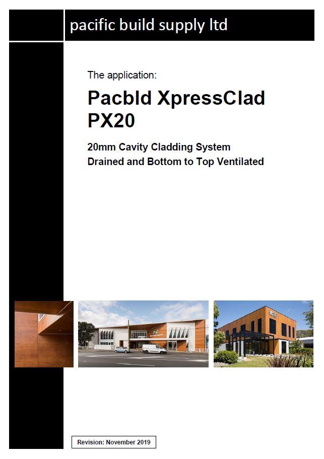 XpressClad PX20 Full Manual