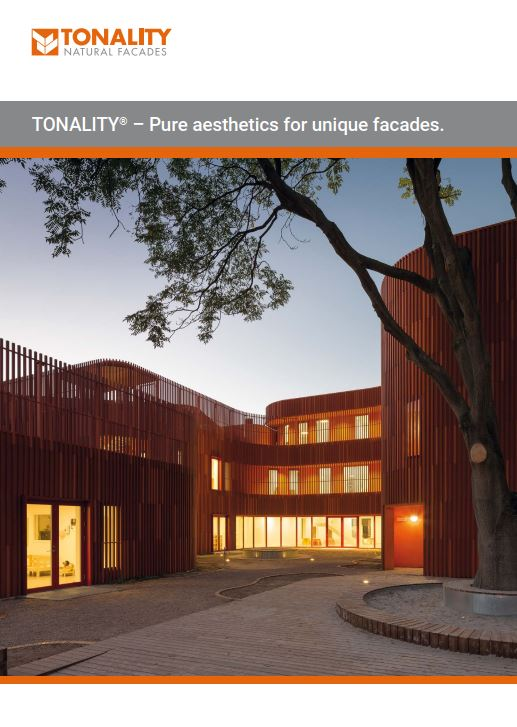 Tonality Pure aesthetics for unique facades
