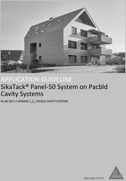XpressClad PX40 SikaTack Panel 50 Document