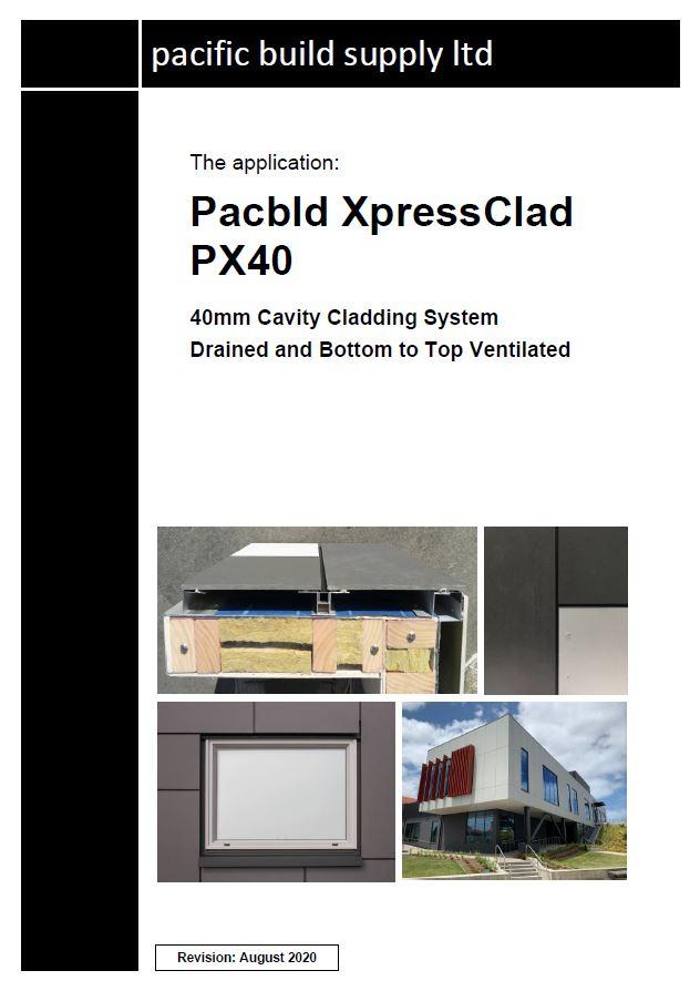XpressClad PX40 Full Manual