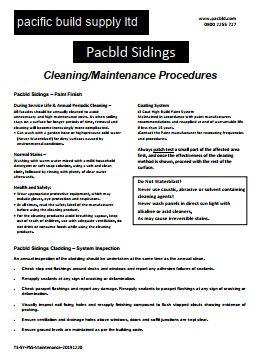 Pacbld Sidings Maintenance - PDF