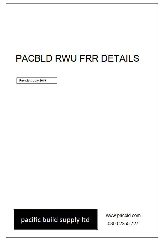 Pacbld RWU FRR Details