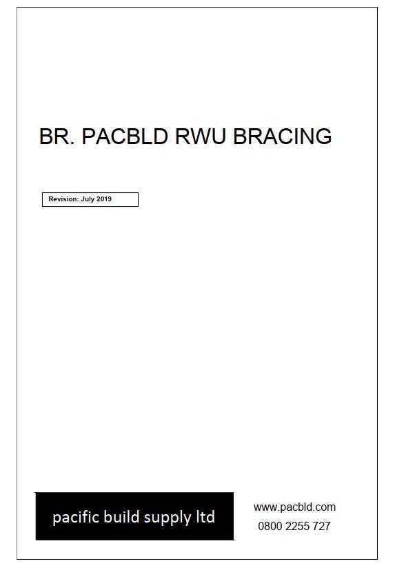 Pacbld RWU Bracing Details