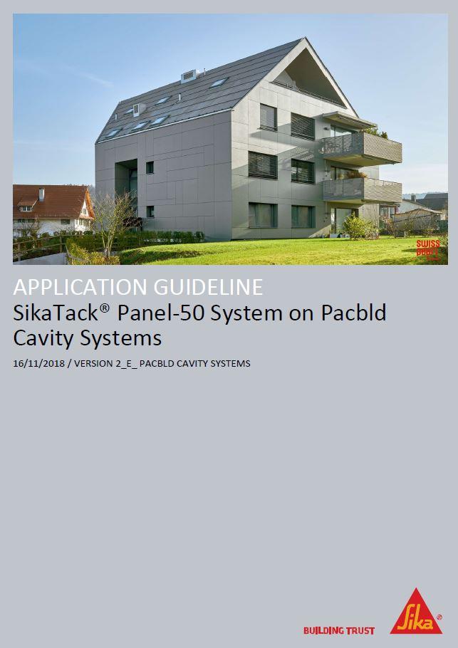 XpressClad PX40 SikaTack Panel 50 Document [Nov 18]
