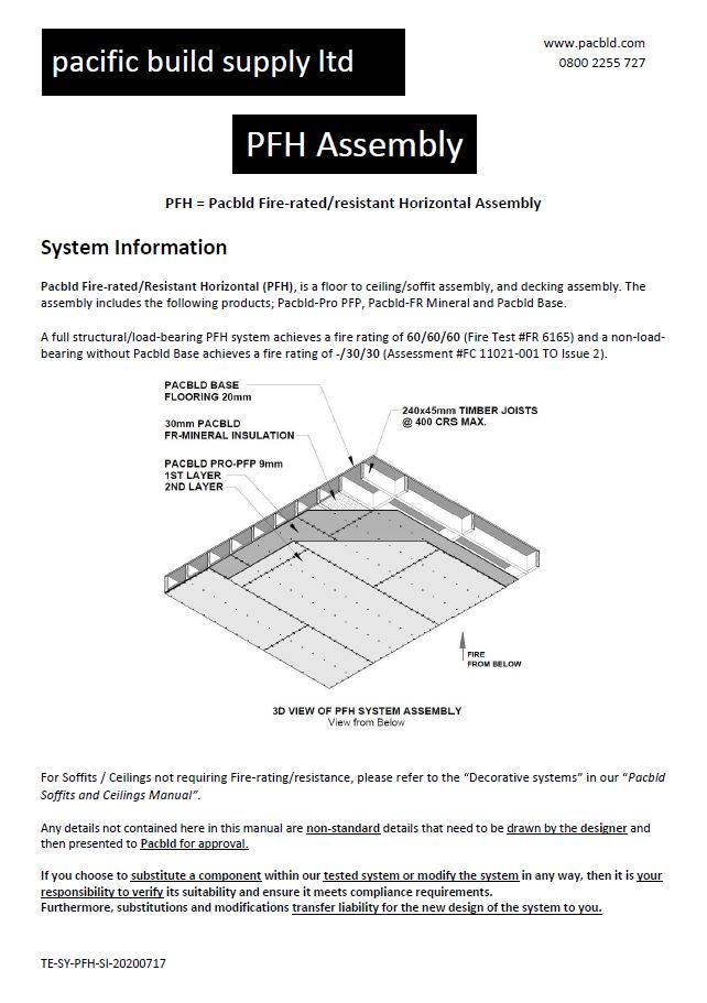 PFH Assembly Information - PDF